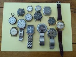 14 Montres Voir Descriptif - Horloge: Antiek