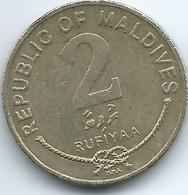 Maldives - AH1415 (1995) - 2 Rufiyaa - KM88 - Maldives