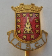 Alhandra SC   PORTUGAL FOOTBALL CLUB, SOCCER / FUTBOL / CALCIO PINS BADGES P4/3 - Fútbol