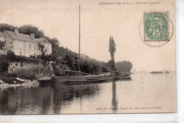 Cunault Chênehutte-Trèves-Cunault Belle Vue De La Loire Péniche Gabare Batellerie - Other Municipalities