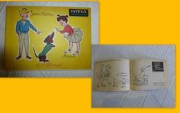 Dépliant Album à Colorier INTEXA Jean-Pierre Annie Et Adhémar, Vers 1950 ? Ref 1391 ; VP 10 - Pubblicitari