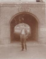 Soldat Armée Militaire Belge Entrée D'un Fort 9 X 7 - Photos