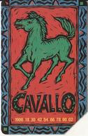 ITALY - Chinese Horoscope/Horse, Exp.date 31/12/02, Used - Zodiaco