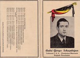 Souvenir AS De Harelbeke Harelbeek Résistant Arm Parachuté Marconiste Radio Camp Concentration Mauthausen - Devotion Images