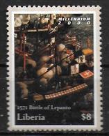 LIBERIA N° 2448  * *  Millennium Bataille De Lepanto - History