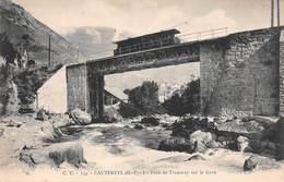 Lot De 13 CPA De Cauterets Avec Train / Tramway - Toutes En Très Bon état - Cauterets