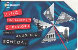 ITALY - European Union/Monuments, Exp.date 31/12/01, Used - Télécartes