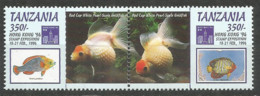 Tanzania 1994 Year, Mint Stamps MNH(**) Fish - Tanzania (1964-...)