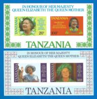 Tanzania 1985 Year, Mint Blocks MNH(**)  Imperf. - Tanzania (1964-...)