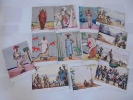 13 CARTES POSTALES EXPOSITION COLONIALE INTERNATIONALE PARIS 1931 - Afrique