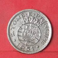 SAINT THOMAS E PRINCIPE 50 CENTAVOS 1951 -    KM# 10 - (Nº34879) - Sao Tome And Principe