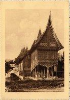 CPA AK INDONESIA Adathuis Te Padang-Pandjang. Padangsche Bovenlanden. (341671) - Indonesien