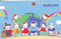 Telecarte JAPON * (1987) BALLON * MONTGOLFIERE - Hot Air Balloon * Aerostato * Heißluft PHONECARD JAPAN - - Sport