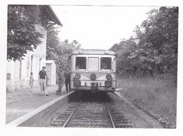 46 Toirac Entre Figeac Et Cajarc PHOTO Train Autorail SNCF En Gare Le 6 Septembre 1973 VOIRDOS Cliché Bazin Série 12 N°9 - Trains