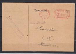 Dt.Reich Seltene Orts-Drucksache Charlottenburg 9.11.23 Mit Rotem Maschinen-Postfrei-o 200oooooo - Germania