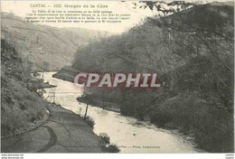 CPA Cantal 1522 Gorges De La Cere - Non Classés