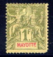 MAYOTTE  - 13(*) - TYPE GROUPE - Neufs