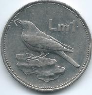 Malta - 1 Lira / Pound - 1991 - KM99 - Malta