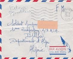 1956 - Guerre D'Algérie - 17 Lettres En FM De France Vers Le Territoire Du Sud - Avec Correspondance - Kriegsausgaben