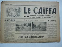 JOURNAL MENSUEL ILLUSTRE - LE CAÏFFA - Newspapers