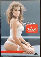 Triumph Lingerie Sexy Girl Carte Postale - Pin-Ups