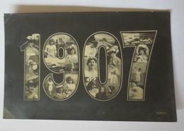 """""""Neujahr, Jahreszahlen, Kinder, Frauen, Mode"""" 1906 ♥ (30113) - New Year"""