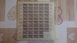 FEUILLE COMPLETE Y Et T N° 1477 ** Année 1966 - Feuilles Complètes