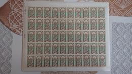 FEUILLE COMPLETE Y Et T N° 1482 ** Année 1966 - Full Sheets