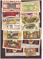 15 NOTGELD DER STADT ZEULENRODA - TB - [11] Local Banknote Issues