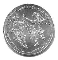 Dança Dos Pauliteiros 1997 - 1000 Escudos - Silver 27g - Portugal