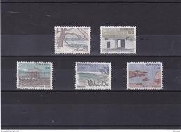 DANEMARK 1981 SJAELLAND Yvert 735-739 NEUF** MNH - Danemark