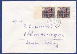 Mehrfachfrankatur MiNr. 391 (aa0278) - Storia Postale