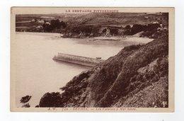 Avr20    2287968   Bréhec   Les Falaises à Mer Haute - Autres Communes