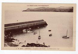 Avr20    2287967   Bréhec   La Jetée à Mer Haute - Autres Communes