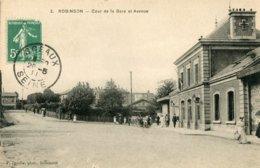 2. ROBINSON - COUR DE LA GARE ET AVENUE - Sonstige Gemeinden