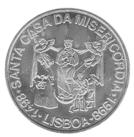 Santa Casa Da Misericórdia 1998 - 1000 Escudos - Silver 28g - Portugal