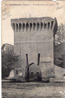 """B66280 Cpa Courthezon - Porte De La Gare"""" En L'état """" - Otros Municipios"""