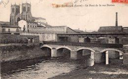 "B66297 Cpa Couzon - Le Pont De La Rue Dorian "" état "" - Otros Municipios"