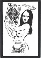 CPM Jeu De Cartes Carte à Jouer Playing Cards Nude érotisme Joconde Mona Lisa Concorde - Cartes à Jouer
