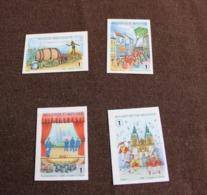 3800/03 'Folklore En Tradities' - Ongetand - Zeer Mooi! - Belgique