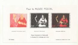 BLOC POUR LE MUSEE POSTAL  NOUVEAU NE DE GEORGES DELATOUR  N° YVERT 1479B . - Autres