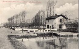 CPA - 45 - Châtillon-Coligny - Ecluse N°24 Du Canal De Briare - Chatillon Coligny