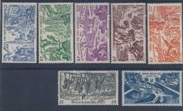 COTE FRANCAISE DES SOMALIS - N° 13/17 NEUFS* AVEC CHARNIERE - 1946 - Côte Française Des Somalis (1894-1967)