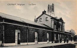 Chimay Intérieur De La Gare Du Train Buffet édit Douniau - Chimay