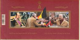 2013 Belgium Reign Of King Albert Miniature Sheet Of 2 MNH @ BELOW FACE VALUE - Belgique