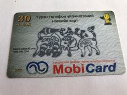 4:021 - Mongolia Prepaid - Mongolei