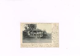 Ath Le Parc Avec Kiosque E.V Bruxelles, Carte Postale Ancienne Années 1901. - Ath