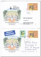 2 Leters To Netherland, NÖ Landesausstellung 2005 - 1945-.... 2ème République
