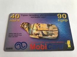 4:022 - Mongolia Prepaid - Mongolei