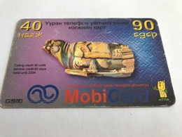 4:024 - Mongolia Prepaid - Mongolei
